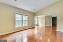 Beautiful wood floors in master bedroom - 12001 SUGARLAND VALLEY DR, HERNDON