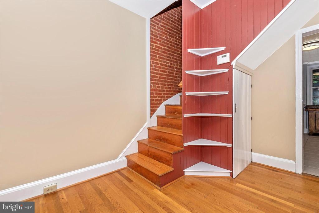 Second Floor Staircase - 101 S BENTZ ST, FREDERICK