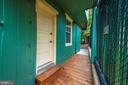 Rear Kitchen Door Entry - 101 S BENTZ ST, FREDERICK