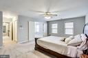 Master bedroom - 13804 FOGGY HILLS CT, CLIFTON
