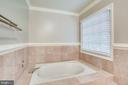 Master bath - 13804 FOGGY HILLS CT, CLIFTON