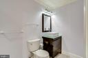 Basement full bathroom - 13804 FOGGY HILLS CT, CLIFTON