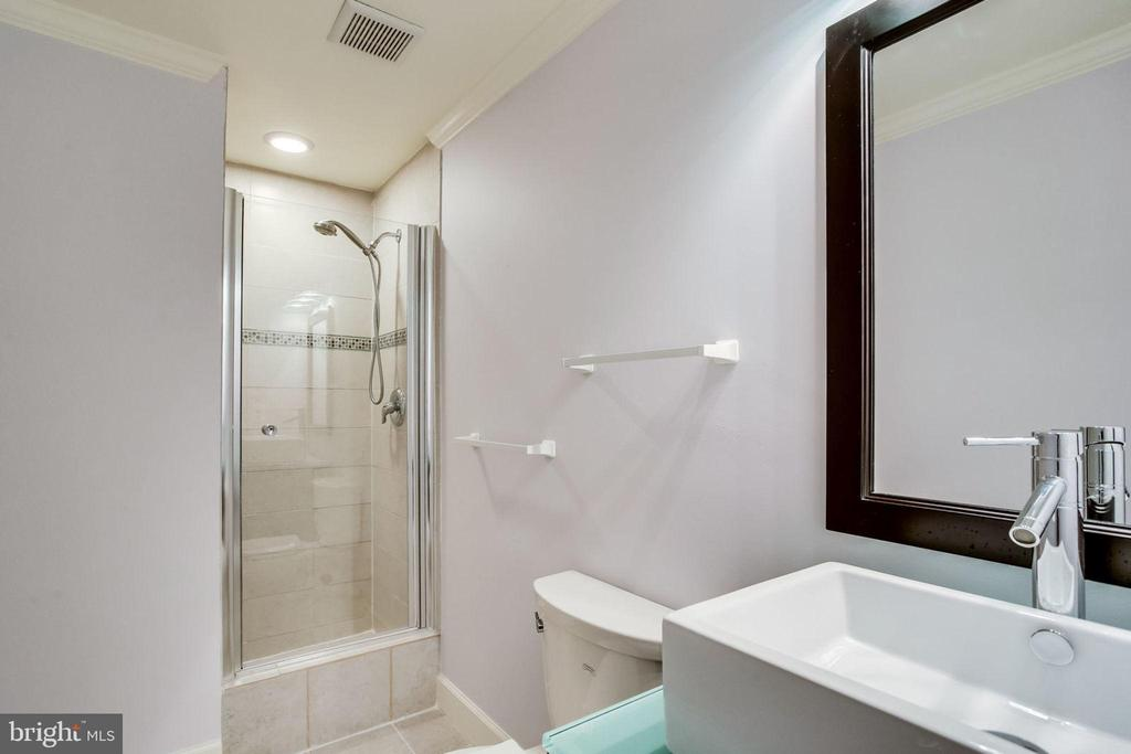 Basement bathroom - 13804 FOGGY HILLS CT, CLIFTON