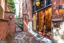 Courtyard Entrance - 3329 PROSPECT ST NW #4, WASHINGTON