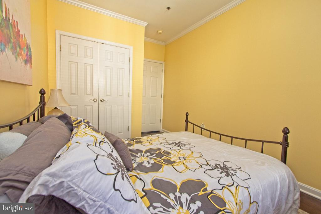 An ample closet for the 2nd bedroom - 1855 STRATFORD PARK PL #309, RESTON