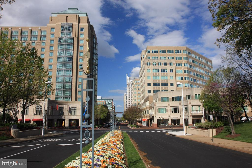 Shops, offices and restaurants across the street - 1855 STRATFORD PARK PL #309, RESTON