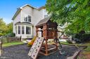 Play Set in backyard - 22077 HIGHVIEW TRAIL PL, BROADLANDS