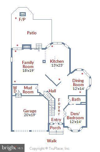 Floor Plan- Main - 22077 HIGHVIEW TRAIL PL, BROADLANDS
