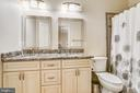 Hall Bathroom - 22077 HIGHVIEW TRAIL PL, BROADLANDS