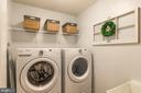 Walkin laundry room upstairs - 16960 TAKEAWAY LN, DUMFRIES