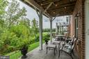 The patio and bird watching spot - 16960 TAKEAWAY LN, DUMFRIES