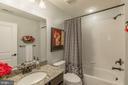 Bathroom #2. upstairs - 16960 TAKEAWAY LN, DUMFRIES