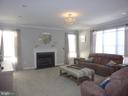 Family Room with Fireplace - 5593 JARIST DR, CLIFTON