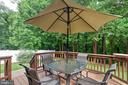Deck and patio great for entertaining or relaxing - 522 CALVIN LN, ROCKVILLE