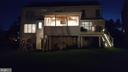Back View at Night - 5593 JARIST DR, CLIFTON