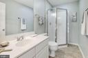 Hall Full Bath - 2452 LAURA MARK LN, HERNDON