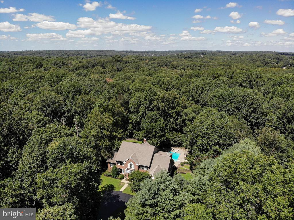 Aerial - 1428 CROWELL RD, VIENNA
