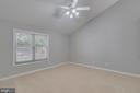 LARGE MASTER BEDROOM WITH CATHEDRAL CEILING - 3008 AQUIA DR, STAFFORD