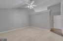 MASTER BEDROOM WITH DOUBLE ENTRY DOORS - 3008 AQUIA DR, STAFFORD