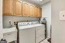 Laundry on main level - 208 GRAFTON WAY NE, LEESBURG