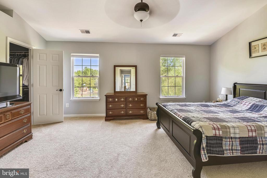 Master bedroom - 208 GRAFTON WAY NE, LEESBURG
