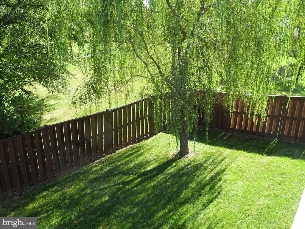Beautiful private back yard and common area - 208 GRAFTON WAY NE, LEESBURG