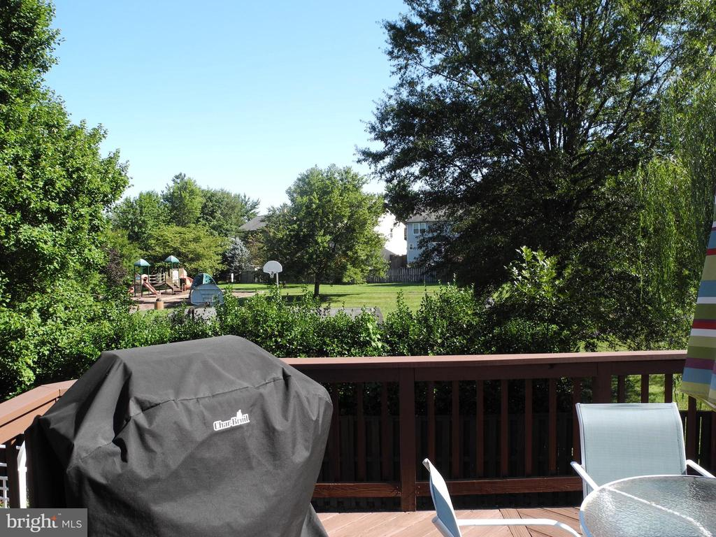 Wonderful view from the deck - 208 GRAFTON WAY NE, LEESBURG
