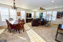 Large Dining Living Room Combination - 14856 MASON CREEK CIR #76, WOODBRIDGE