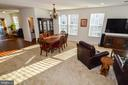 Open and Airy Living Room - 14856 MASON CREEK CIR #76, WOODBRIDGE