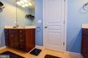 2nd Vanity in Master Bath - 14856 MASON CREEK CIR #76, WOODBRIDGE