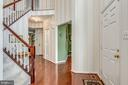 Two-story Foyer - Main Level 9 ft! - 20650 SETTLERS POINT PL, STERLING