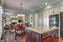 View from Kitchen to dining area! - 20650 SETTLERS POINT PL, STERLING