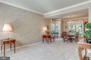Living Room with Crown Molding! - 20650 SETTLERS POINT PL, STERLING