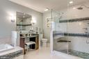 Master Bath Shower & makeup vanity! - 20650 SETTLERS POINT PL, STERLING