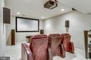 Lower Level Theater! - 20650 SETTLERS POINT PL, STERLING