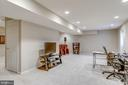 Office area in finished lower level! - 20650 SETTLERS POINT PL, STERLING