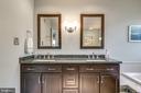 Master Bath double sink vanity! - 20650 SETTLERS POINT PL, STERLING