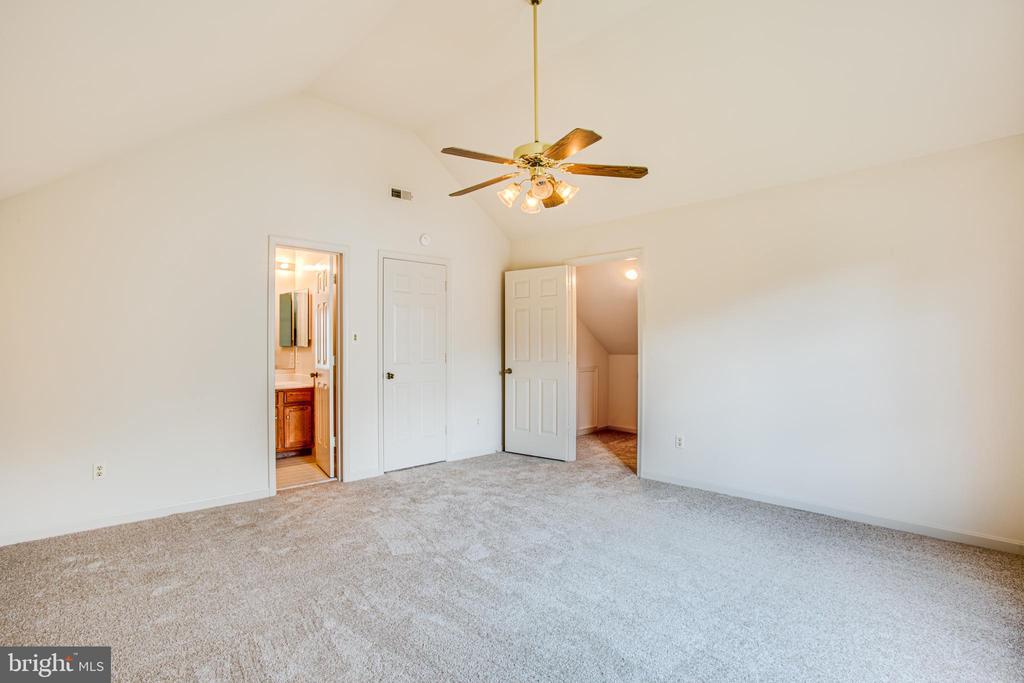 Ceiling Fan in the 5th Bedroom or Bonus Room - 6227 SWEETBRIAR DR, FREDERICKSBURG