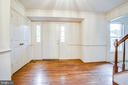 Massive Foyer With Chair & Crown Molding - 6227 SWEETBRIAR DR, FREDERICKSBURG