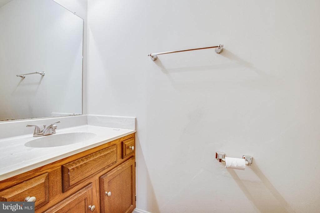 Half Bath Is Off the Foyer - 6227 SWEETBRIAR DR, FREDERICKSBURG