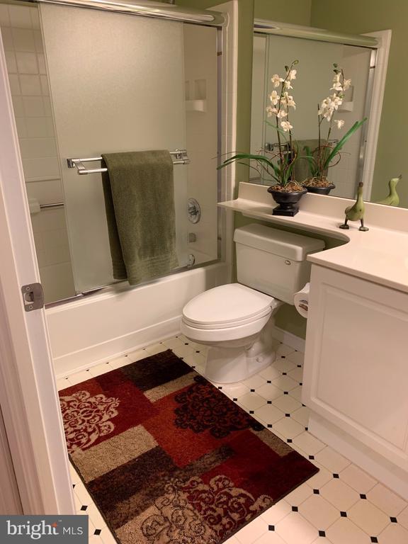 Hall bath - 19375 CYPRESS RIDGE TER #203, LEESBURG