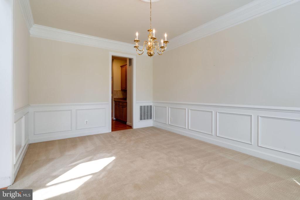 Dining room - 11914 HADDON LN, WOODBRIDGE