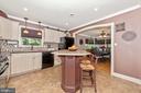 Kitchen - 7504 PROSPECT DR, FREDERICK