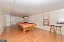 Lower Level/Game Room - 7504 PROSPECT DR, FREDERICK