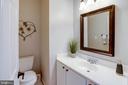 Half Bath on main level - 13909 BALMORAL TER, CLIFTON