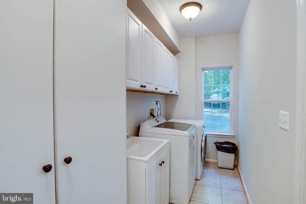 Main Level Laundry Room - 13909 BALMORAL TER, CLIFTON