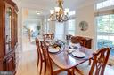Formal Dining Room - 13909 BALMORAL TER, CLIFTON