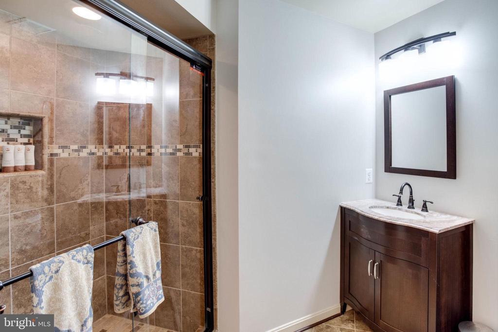 Lower level full bath - 13909 BALMORAL TER, CLIFTON