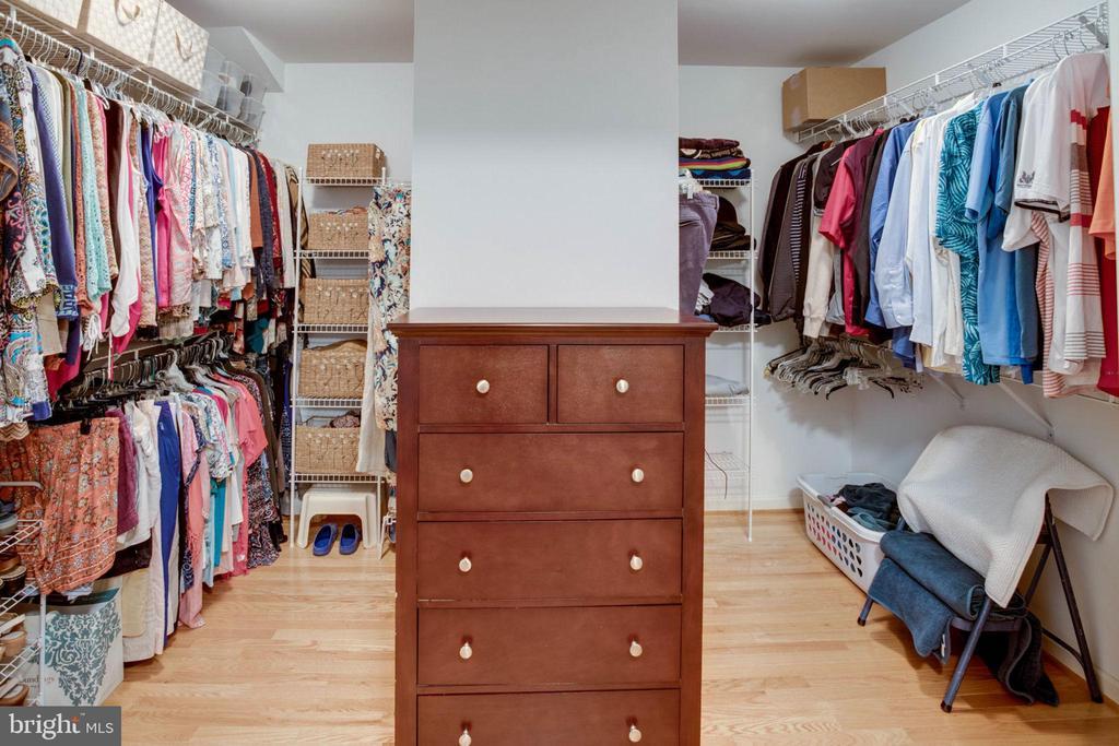 Ample closet space! - 13909 BALMORAL TER, CLIFTON