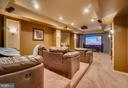 in home theatre, furniture can convey - 132 CHRISWOOD LN, STAFFORD